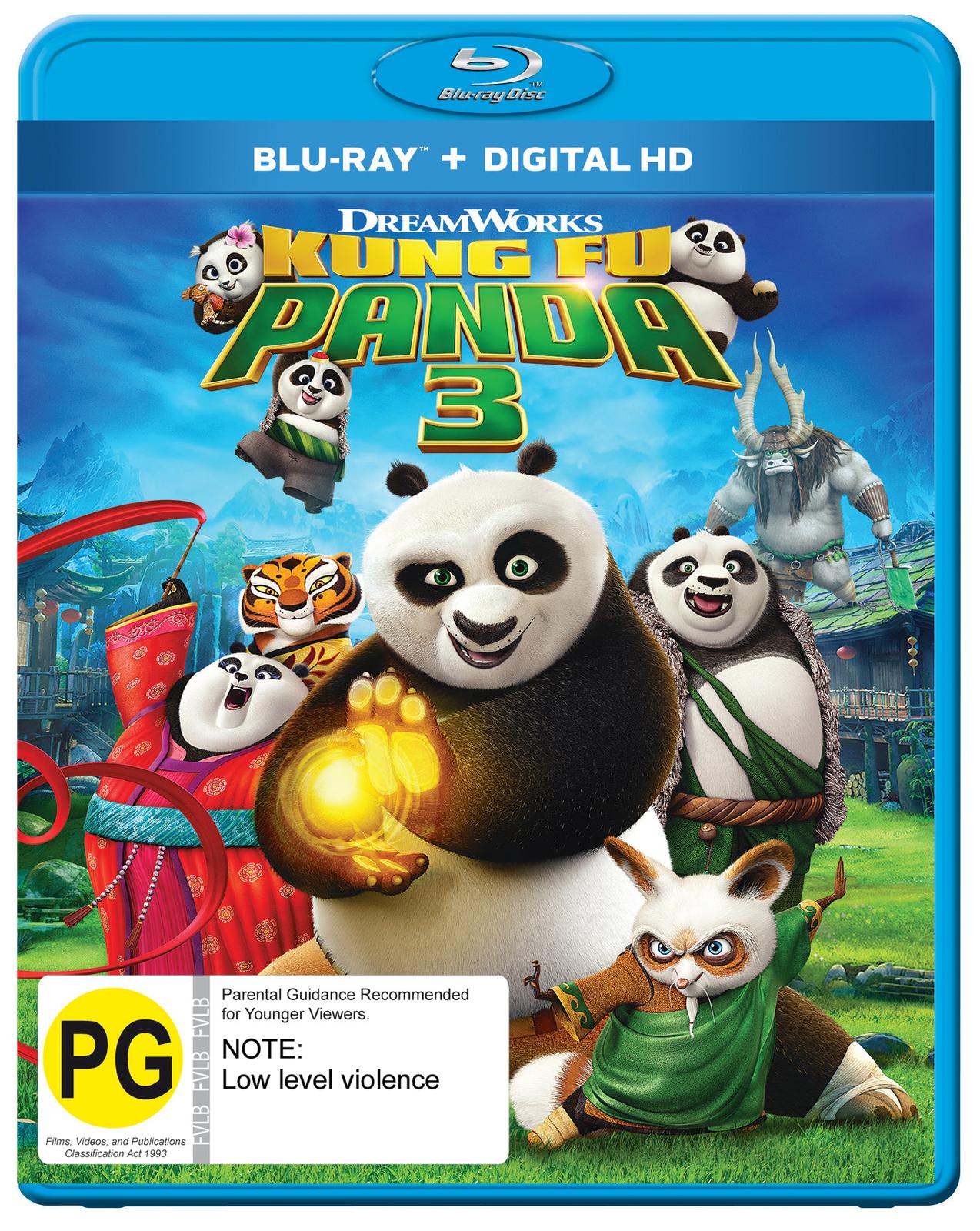 Kung Fu Panda 3 on Blu-ray image