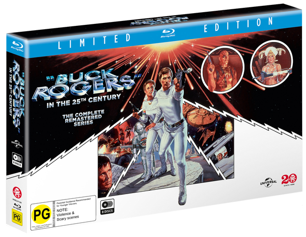 Buck Rogers In The 25th Century: The Complete Series on Blu-ray