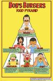 Bob's Burgers: Maxi Poster - Food Pyramid (490)