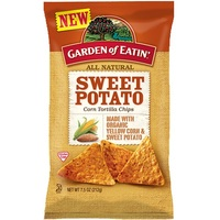 Garden of Eatin Corn Chips Sweet Potato 212g