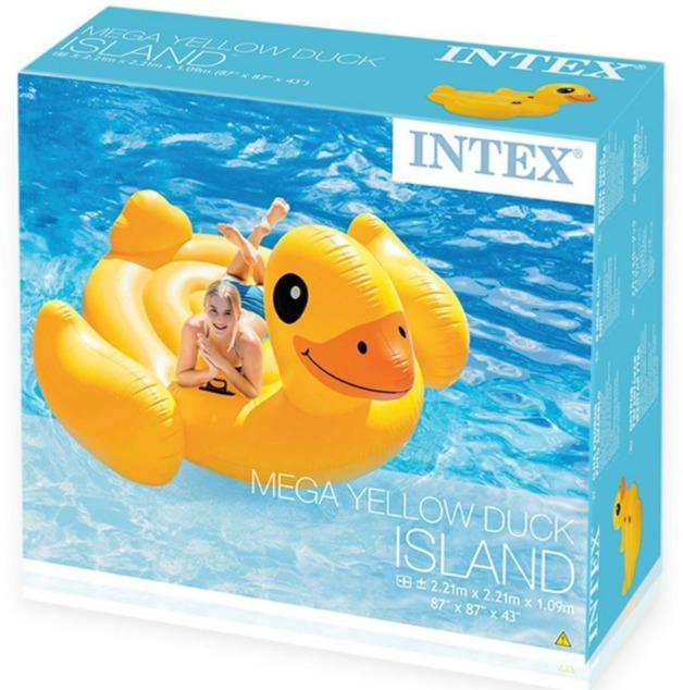 Intex: Mega Yellow Duck Island