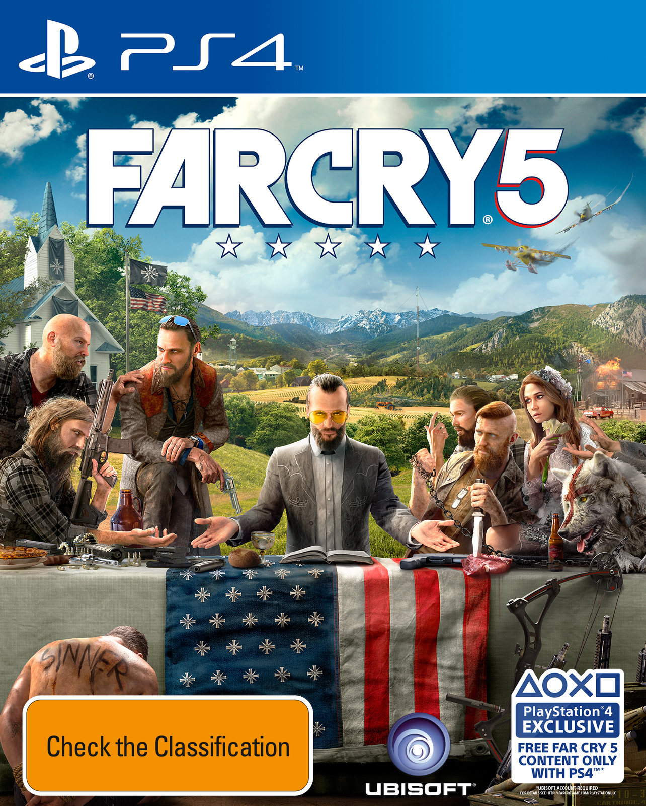 Far Cry 5 for PS4 image