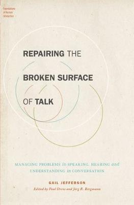 Repairing the Broken Surface of Talk by Gail Jefferson image