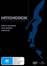 Hitchcock Movie Collection (Rear Window / Birds / Psycho) (3 Disc Set) on DVD