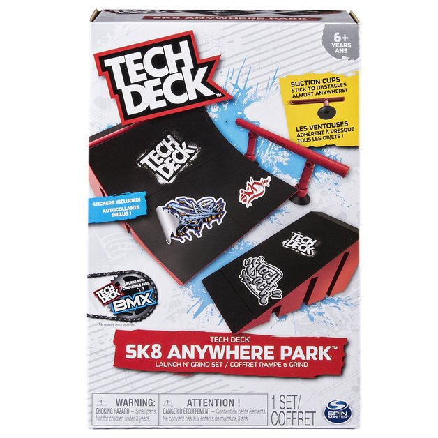 Tech Deck: Street Course - Launch N' Grind