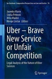 Uber-Brave New Service or Unfair Competition