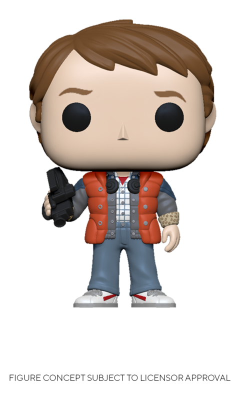 Back to the Future: Marty (Puffy Vest) - Pop! Vinyl Figure
