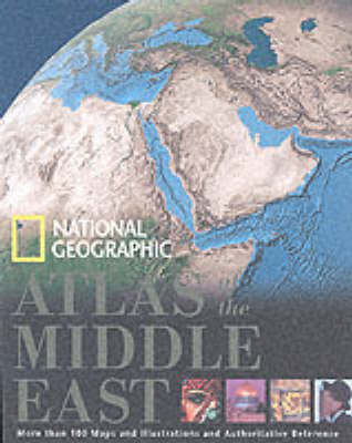 """National Geographic"" Atlas of the Middle East by Carl Mehler image"