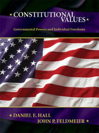 Constitutional Values: Governmental Power and Individual Freedoms by John Feldmeier image