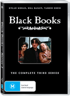 Black Books - Series 3 (Repackaged) on DVD