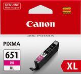 Canon Ink Cartridge - CLI651XLM (Magenta High Yield)