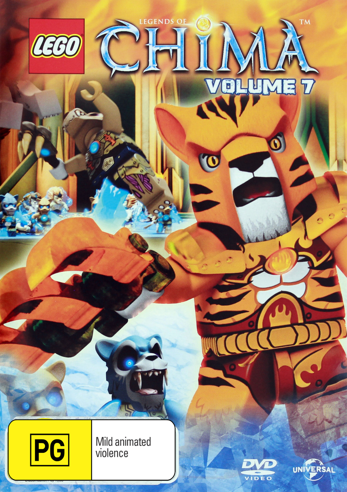 Lego Legends of Chima - Volume 7 on DVD image