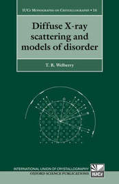Diffuse X-Ray Scattering and Models of Disorder by Thomas Richard Welberry image