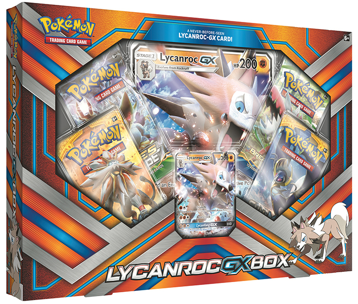 Pokemon TCG Lycanroc-GX Box image