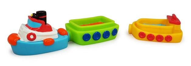 Tolo Toys: Magnetic Bath Tug Boat Set