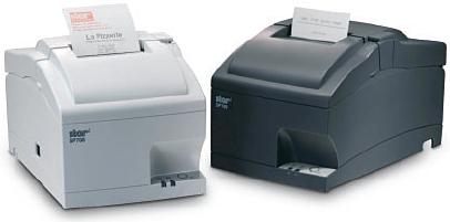 Star SP712 Serial Impact Tear Bar Receipt Printer Grey image