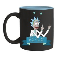 Rick & Morty Peace Among Worlds Coffee Mug