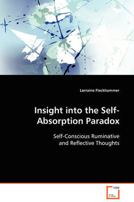 Insight Into the Self-Absorption Paradox by Lorraine Fleckhammer