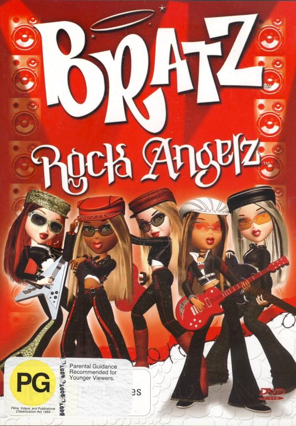 Bratz: Rock Angelz on DVD image