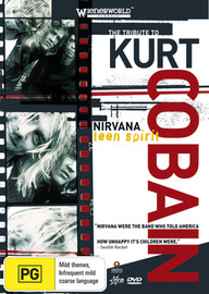 Teen Spirit - The Tribute To Kurt Cobain on DVD image