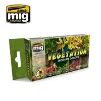 Ammo of Mig Jimenez - Vegetation Diorama Colours