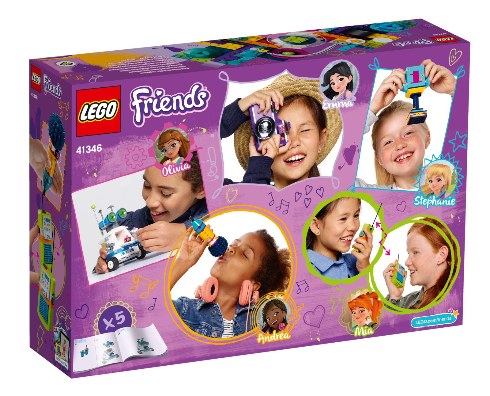 LEGO Friends: Friendship Box (41346) image