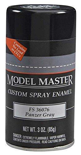 Model Master: Enamel Aerosol - Panzer Gray (Flat) image
