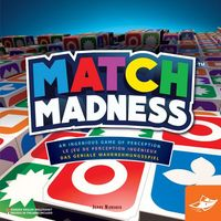 Match Madness - Board Game