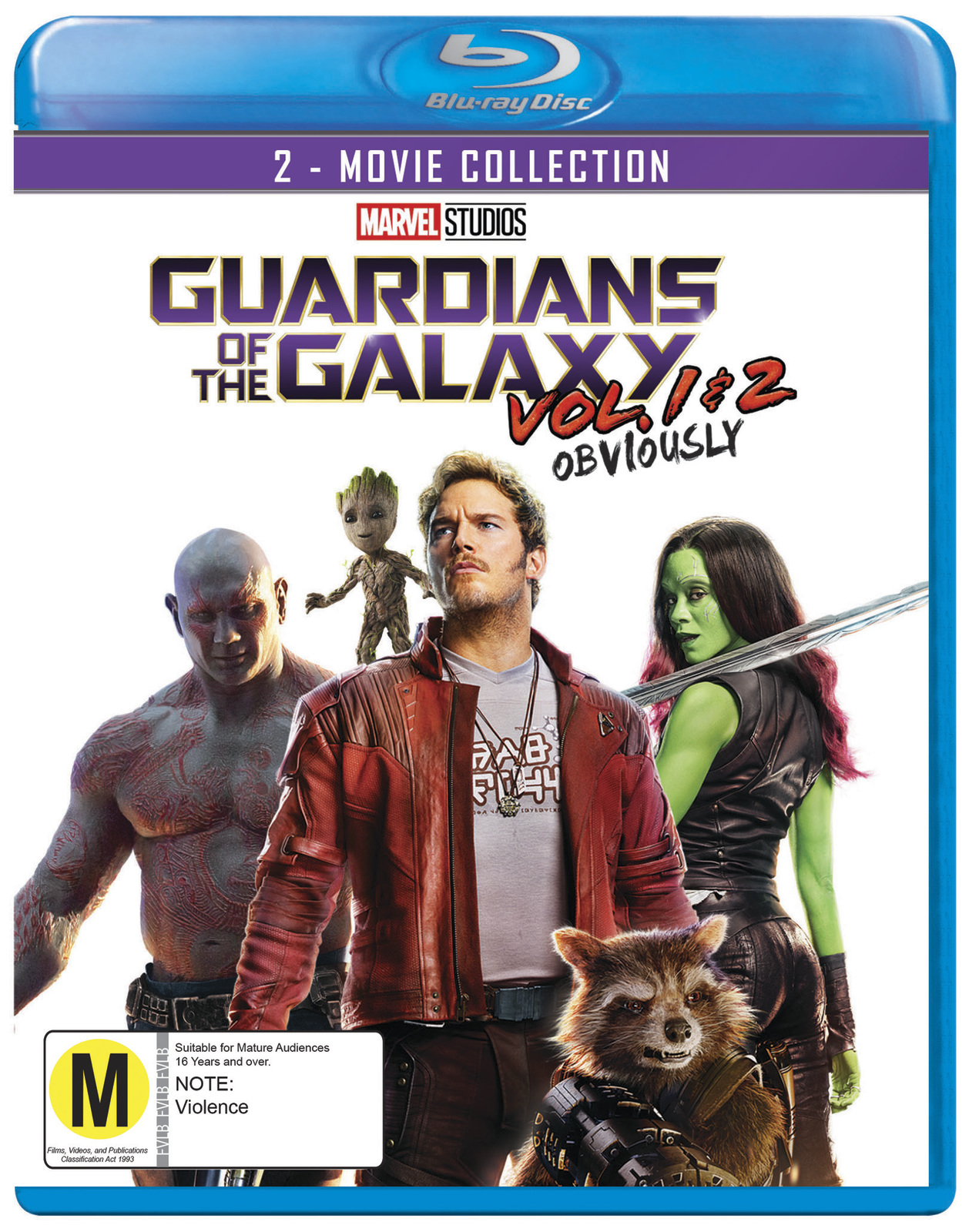 Guardians of the Galaxy: 2 Movie Collection on Blu-ray image