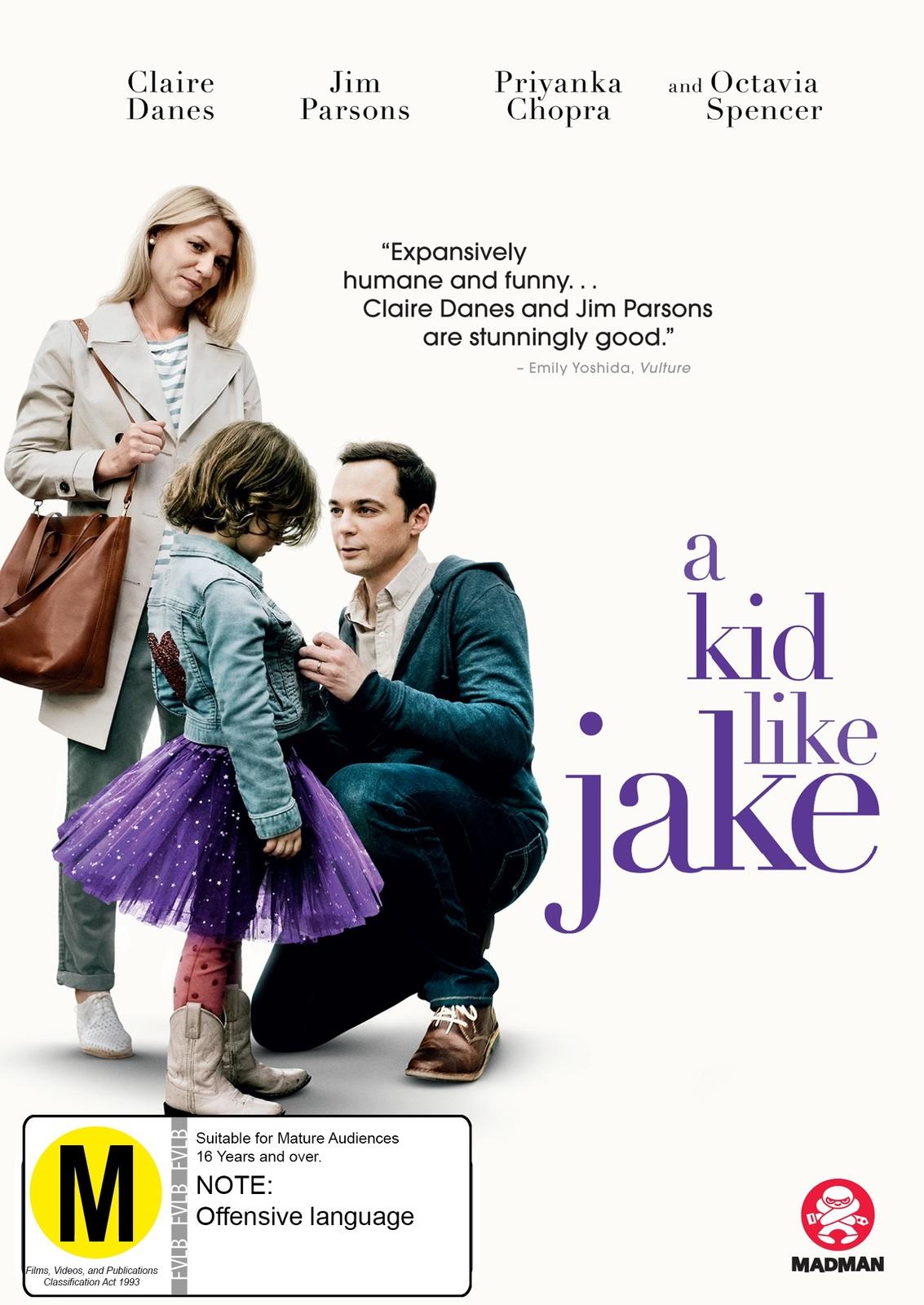 A Kid Like Jake on DVD image