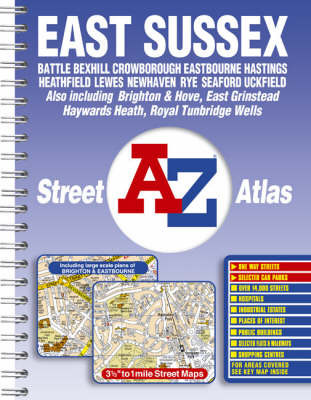 A-Z East Sussex Street Atlas image