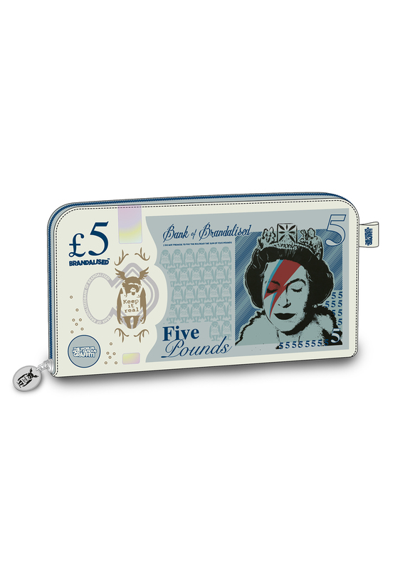 Brandalised: Lizzie Stardust £5 Note Large Purse