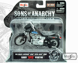 Maisto Sons of Anarchy Opie Winston Die-Cast Motorcycle