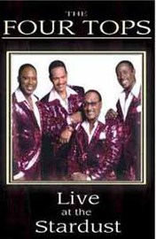 The Four Tops: Live at the Stardust (DVD + CD) on DVD
