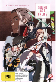 Sword Art Online Vol. 2: Aincrad Part 2 on DVD