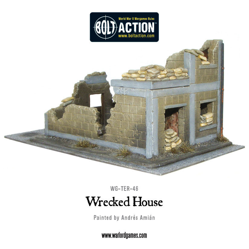 Wrecked House image