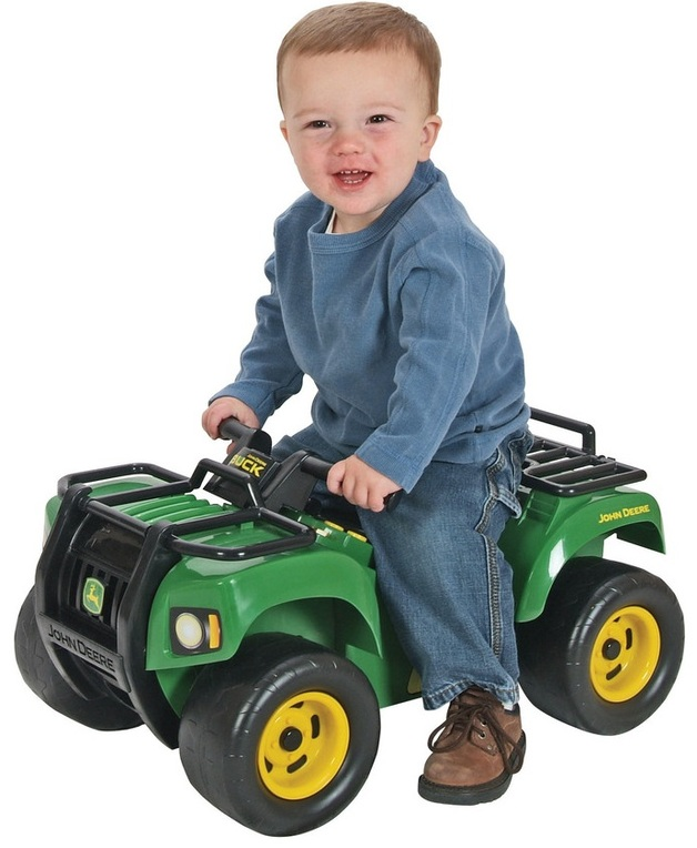 John Deere: Sit & Scoot - Buck ATV with Lights & Sounds (12m+)