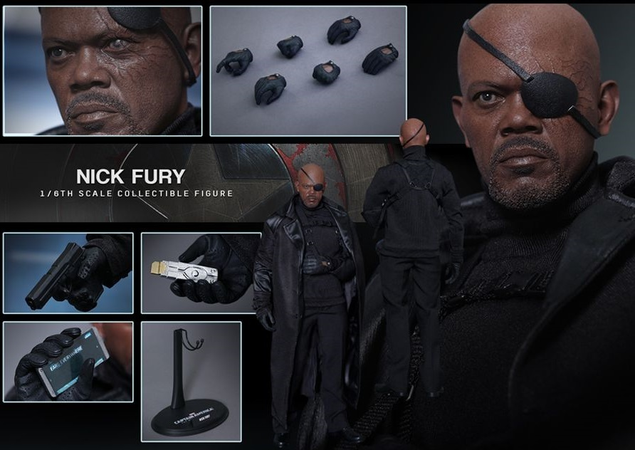 Captain America 2 - Nick Fury 1:6 Scale Collectible Figure image