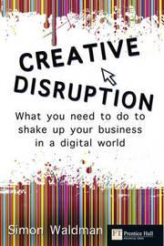 Creative Disruption by Simon Waldman image