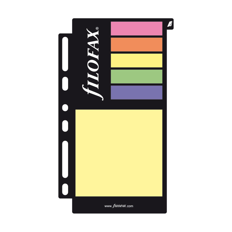 Filofax Personal - Assorted Sticky Notes Large image