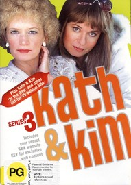 Kath & Kim - Series 3 (2 Disc Set) on DVD image