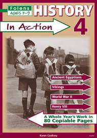 History in Action: Bk. 4 by Karen Cooksey image