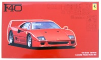 Fujimi: 1/24 Ferrari F40 - Model Kit