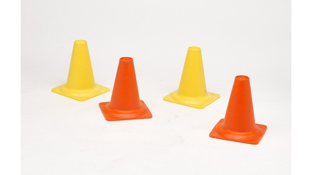 Heavy Duty Traffic Cones - Set of 4