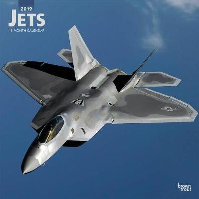 Jets 2019 Square by Inc Browntrout Publishers image