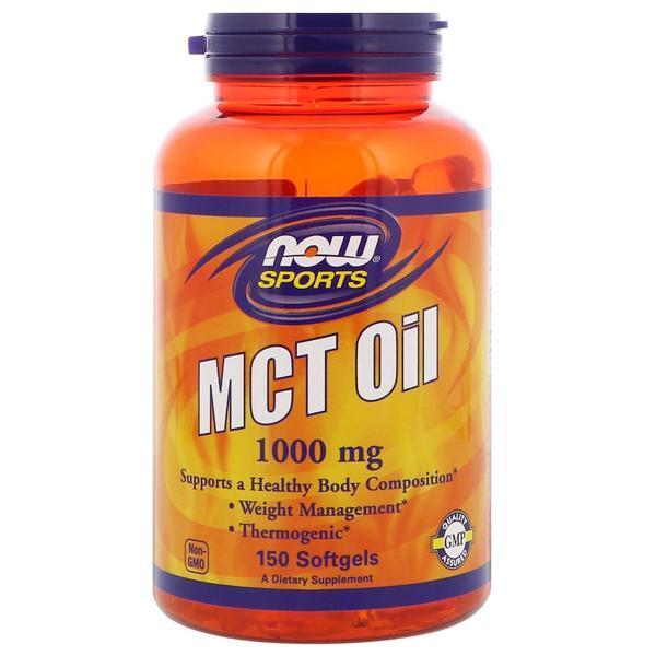 Now Foods MCT Oil 1000mg (150 Soft Gels)