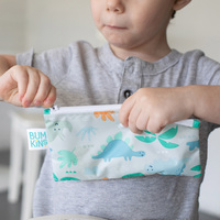 Bumkins: Small Snack Bag - Blue Tropic (2 Pack) image