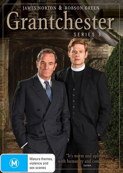 Grantchester Season 3 on DVD