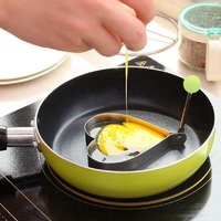 Ape Basics: Stainless Steel Fried Egg Shapers (Set of 4) image