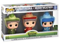 Disney: Flora, Fauna & Merrywather - Pop! Vinyl 3-Pack image